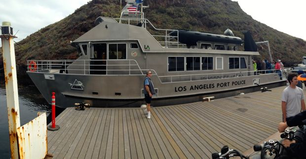 catalina chamber day-police-boat