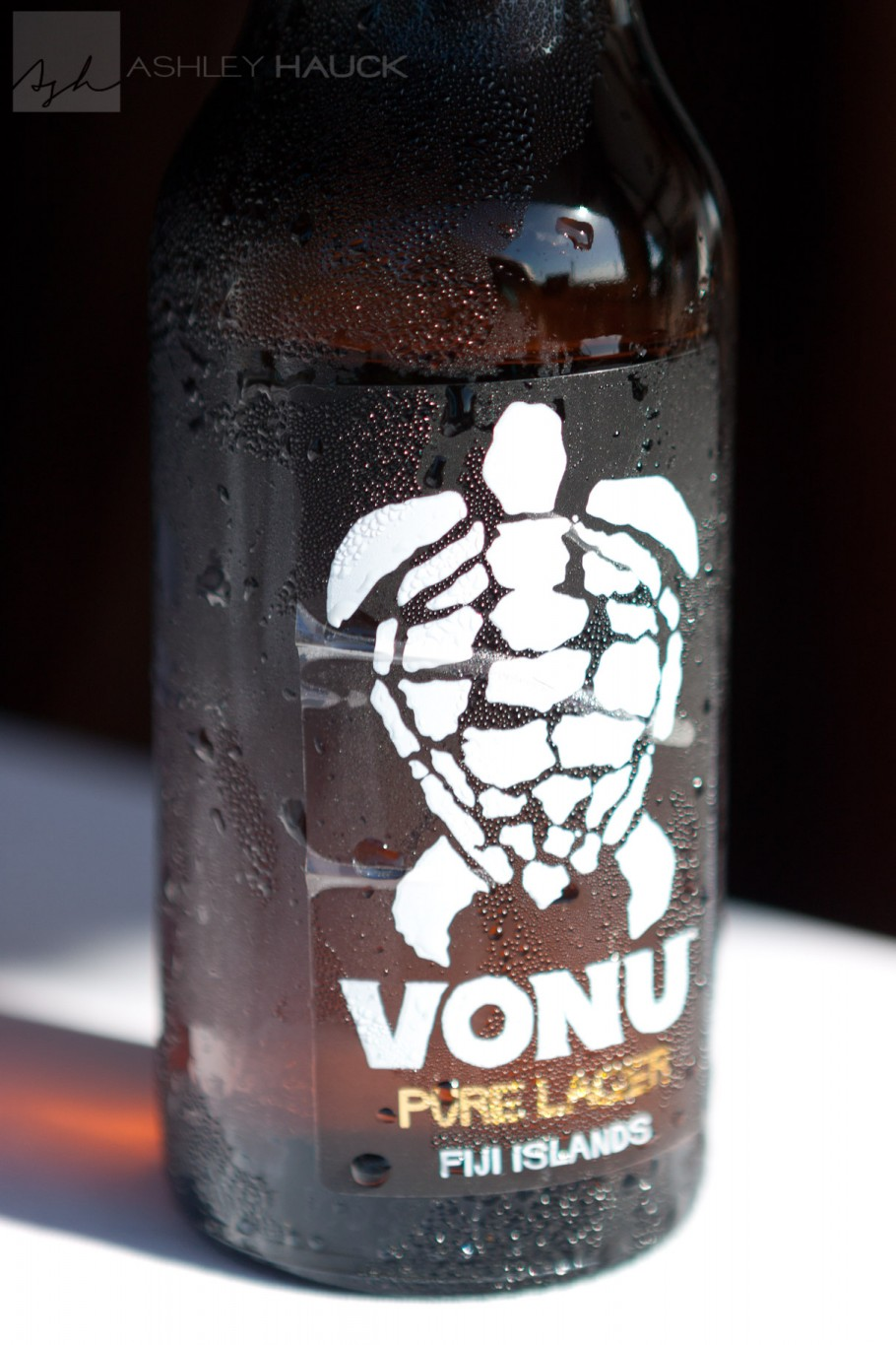 Vonu, local Fijian beer