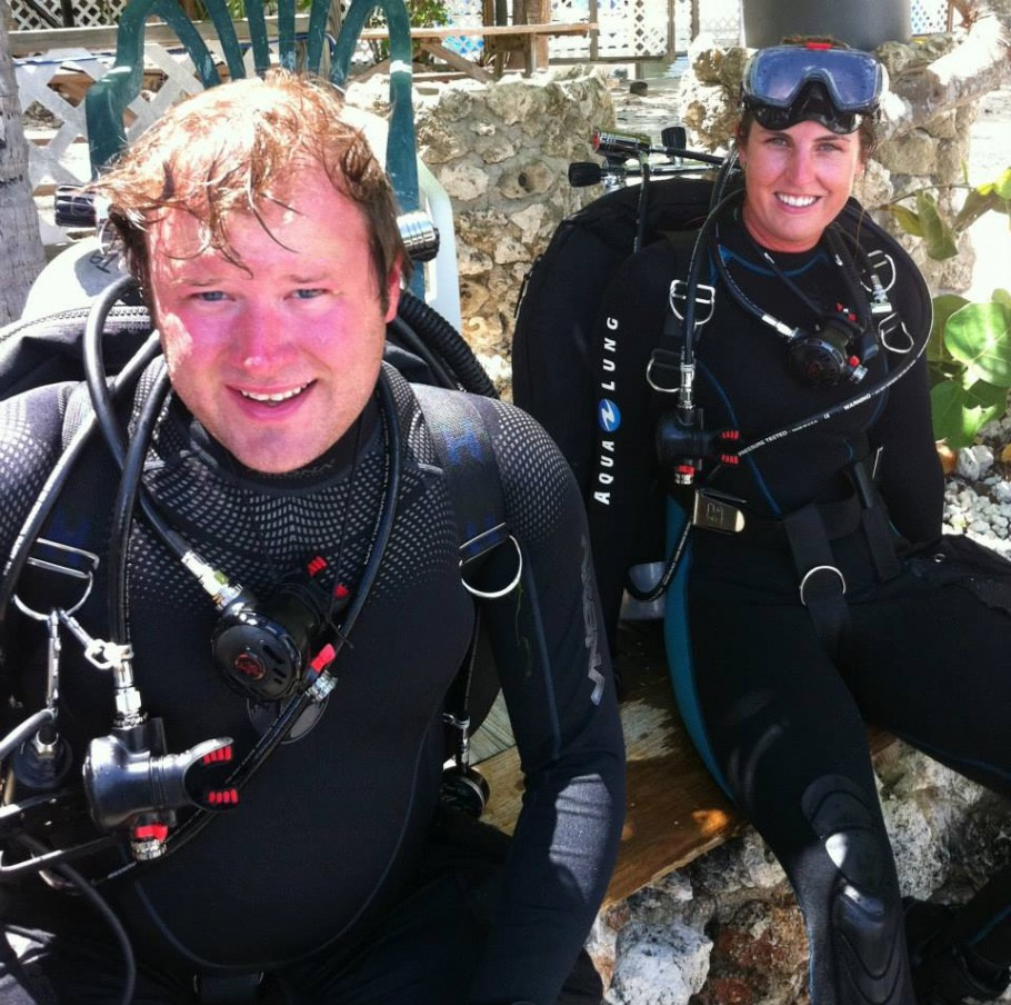 Beginner technical divers
